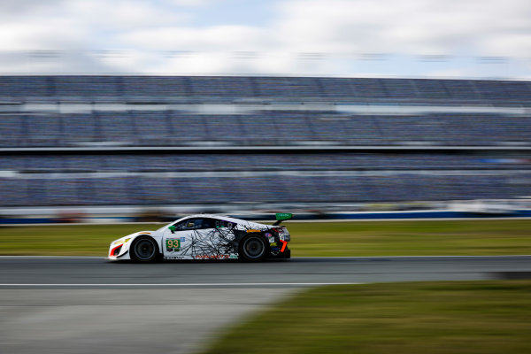 5-8 January, 2017, Daytona Beach, Florida USA 93, Acura, Acura NSX, GTD, Andy Lally, Katherine Legge, Mark Wilkins, Ryan Hunter-Reay  ©2017, Barry Cantrell LAT Photo USA