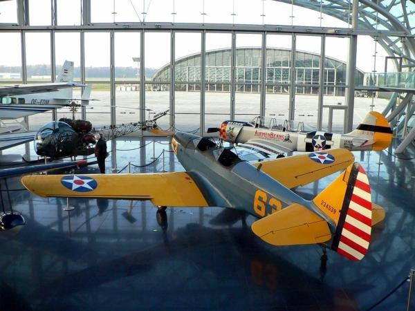 The Red Bull aircraft collection in Hanger-7.Red Bull Hanger-7, Salzburg, Austria, 15 November 2004.DIGITAL IMAGE