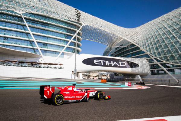 2017 FIA Formula 2 Round 11. Yas Marina Circuit, Abu Dhabi, United Arab Emirates. Friday 24 November 2017. Charles Leclerc (MCO, PREMA Racing).  Photo: Sam Bloxham/FIA Formula 2. ref: Digital Image _J6I1335