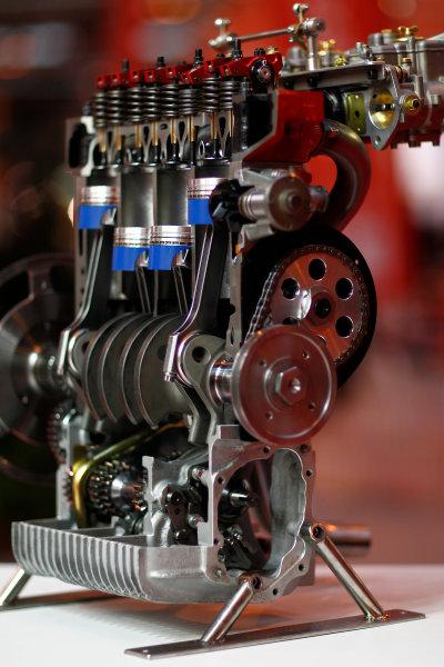 Autosport International Show NEC, Birmingham.  Sunday 12 January 2014. Engine. World Copyright:Alastair Staley/LAT Photographic ref: Digital Image _A8C0595