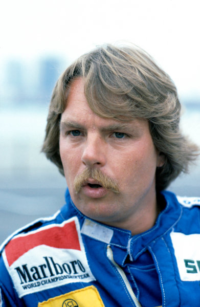 1983 Detroit Grand Prix.Detroit, United States. 5 June 1983.Keke Rosberg (Williams).World Copyright: LAT Photographicref: 35mm Transparency Image