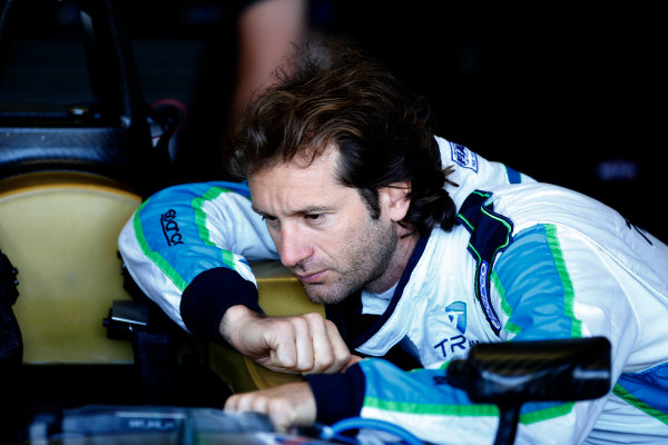 FIA Formula E Test Day, Donington Park, UK.  9th - 10th July 2014.  Jarno Trulli, Trulli GP. Photo: Glenn Dunbar/FIA Formula E ref: Digital Image _89P3198