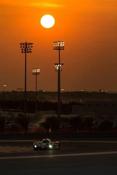 2015 FIA World Endurance Championship Bahrain 6-Hours Bahrain International Circuit, Bahrain Saturday 21 November 2015. Alexander Wurz, St?phane Sarrazin, Mike Conway (#2 LMP1 Toyota Racing Toyota TS 040 Hybrid). World Copyright: Sam Bloxham/LAT Photographic ref: Digital Image _SBL5212