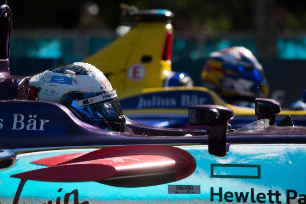 2015 Formula E  Buenos Aires e-Prix, Argentina Saturday 6 February 2016. Sam Bird (GBR), DS Virgin Racing DSV-01 & Sebastien Buemi (SUI), Renault e.Dams Z.E.15  Photo: Sam Bloxham/FIA Formula E/LAT ref: Digital Image _SBL1005