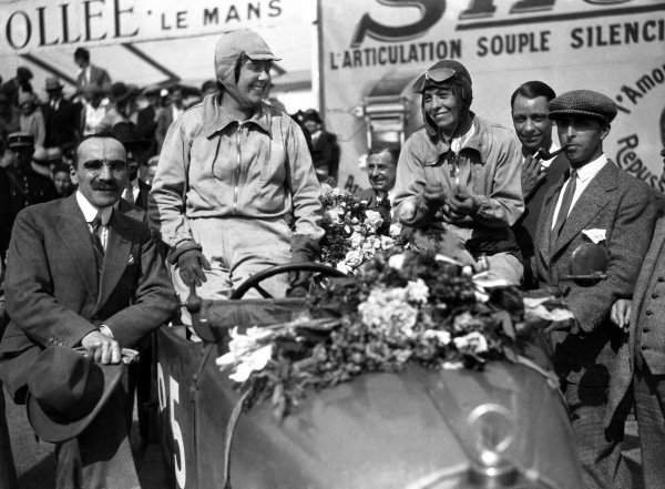 1930 Le Mans 24 hours. Le Mans, France. 21st - 22nd June 1930. Marguerite Mareuse / Odette Siko (Bugatti T40), 7th position overall  and 2nd position in class, portrait.  World Copyright: LAT Photographic.  Ref:  Autocar Glass Plate B4207.