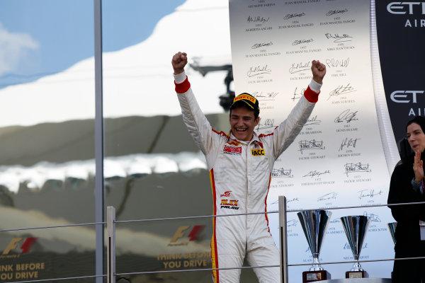 2015 GP3 Series Round 9 Yas Marina Circuit, Abu Dhabi, UAE. Sunday 29 November 2015. Alex Palou (ESP, Campos Racing)  Photo: Sam Bloxham/GP3 Series Media Service. ref: Digital Image _G7C8686