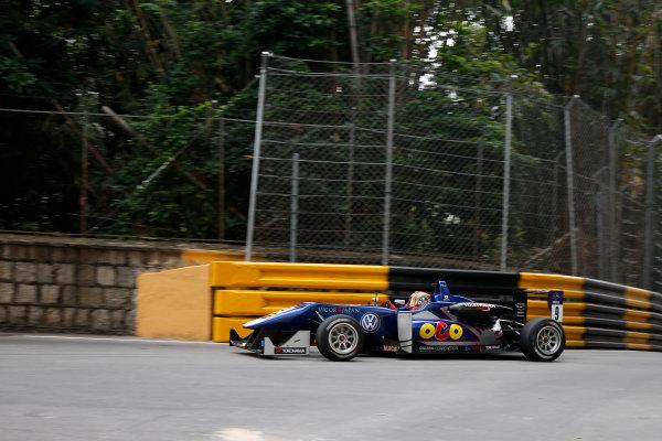 2015 Macau Formula 3 Grand Prix Circuit de Guia, Macau, China 18th - 22nd November 2015 Yu Kanamaru (JPN) Carlin Dallara Volkswagen World Copyright: XPB Images/LAT Photographic ref: Digital Image 2015-Macau-F3-AT1-0567