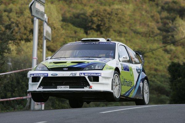 2005 FIA World Rally Champs. Round fourteenRallye De France.20th-23rd October 2005.Roman Kresta, Ford, Action.World Copyright: McKlein/LAT