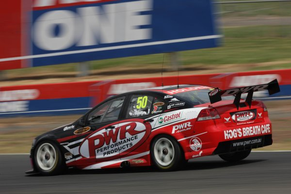Andrew Thompson of PWR Racing during the Eastern Creek Round, Round 02 of the Australian V8 Supercar Championship Series at the Eastern Creek Circuit, Sydney, New South Wales, March 07, 2008.