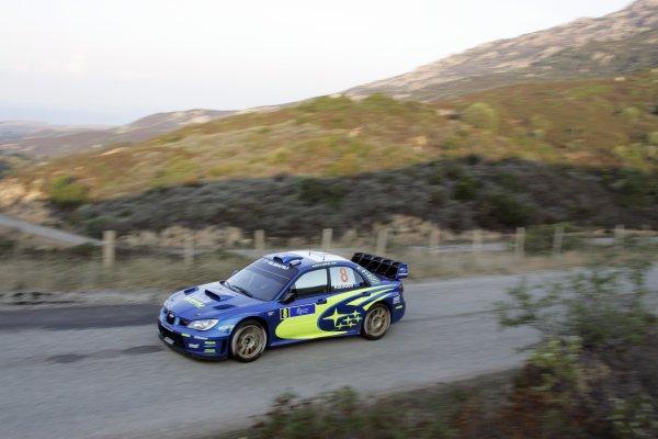 2007 FIA World Rally ChampionshipRound 13Rally of France, Tour de Course 200711-14 October 2007Chris Atkinson, WRC Subaru, Action.Worldwide Copyright: McKlein/LAT