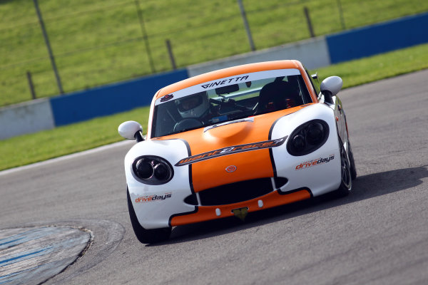 2017 Ginetta Racing Drivers Club+ Championship, Donington Park, Leicestershire. 23rd - 24th September 2017. Jack Oliphant. World Copyright: JEP/LAT Images
