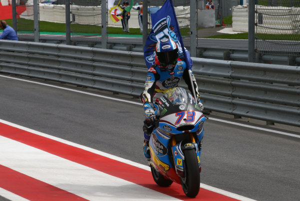 2017 Moto2 Championship - Round 11 Spielberg, Austria Sunday 13 August 2017 Alex Marquez, Marc VDS World Copyright: Gold and Goose / LAT Images ref: Digital Image 687121