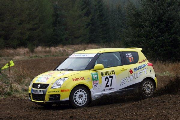 2007 British Rally Championship,Pirelli International Rally, Carlisle, Cumbria. 20th-21st April 2007.Lorna Smith/Joanne Oakey, World Copyright: Ebrey/LAT photographic.