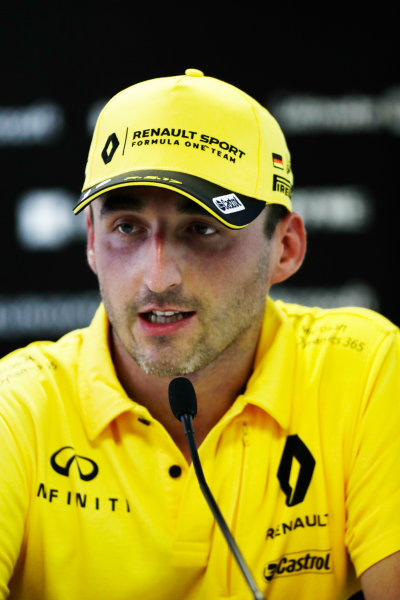Hungaroring, Budapest, Hungary.  Wednesday 02 August 2017. Robert Kubica, Renault. World Copyright: Zak Mauger/LAT Images  ref: Digital Image _56I9925