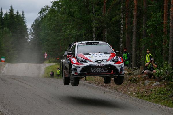 2017 FIA World Rally Championship, Round 09, Rally Finland / July 27 - 30, 2017, Esapeckka Lappi, Toyota WRC, Action  Worldwide Copyright: McKlein/LAT