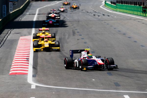 2017 FIA Formula 2 Round 4. Baku City Circuit, Baku, Azerbaijan. Saturday 24 June 2017. Sergio Canamasas (ESP, Trident)  Photo: Zak Mauger/FIA Formula 2. ref: Digital Image _54I1154