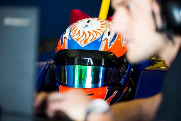 2016 GP3 Series Test 5. Yas Marina Circuit, Abu Dhabi, United Arab Emirates. Thursday 1 December 2016. Tarun Reddy (IND, DAMS)  Photo: Sam Bloxham/GP3 Series Media Service. ref: Digital Image _SLB3007