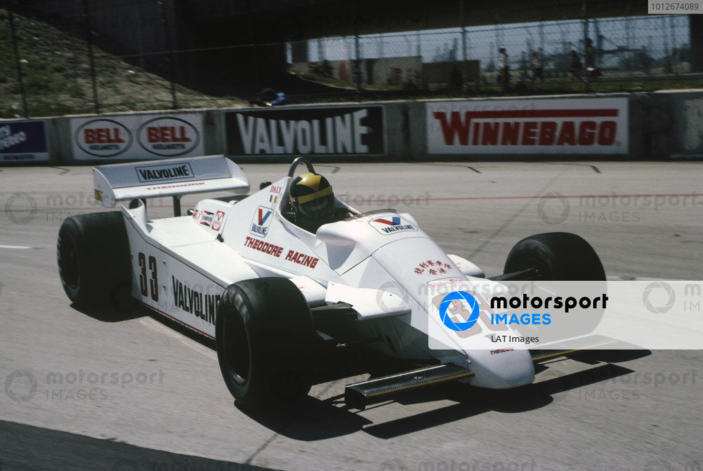 1982 United States Grand Prix West.