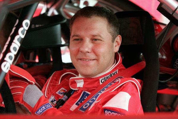 2004 FIA World Rally Champs. Round ten, OMV Deutschland Rally.19th - 22nd August 2004.Cedric Robert, Peugeot, portrait.World Copyright: McKlein/LAT