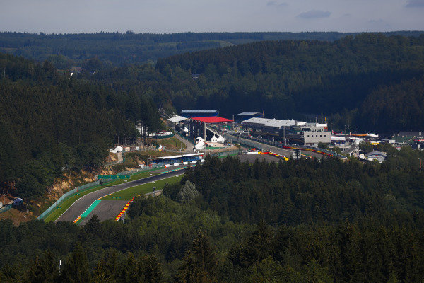 A scenic view of Spa-Francorchamps.