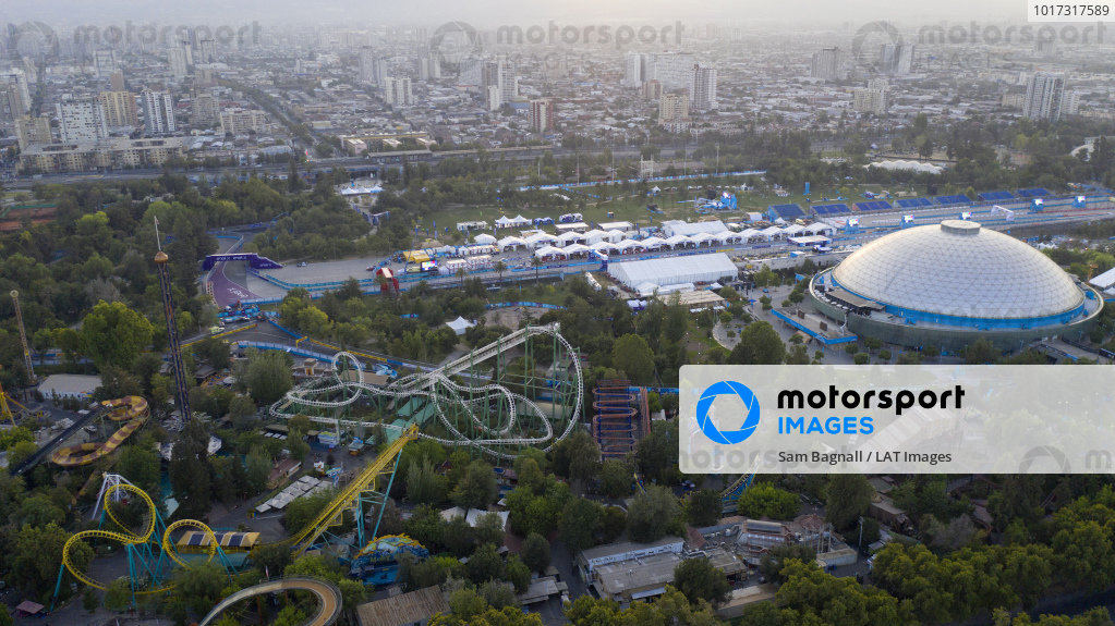 Aerial view of the Santiago circuit