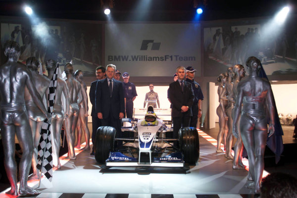 BMW WilliamsF1 Team launch