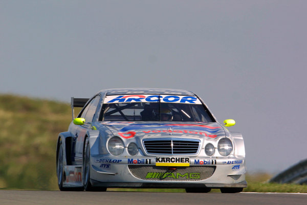 2001 DTM ChampionshipZandvoort, Holland. 22nd - 23rd September 2001.Bernd Schneider (D2 AMG Mercedes), action.World Copyright: Peter Spinney/LAT Photographicref: 8 5mb Digital Image Only