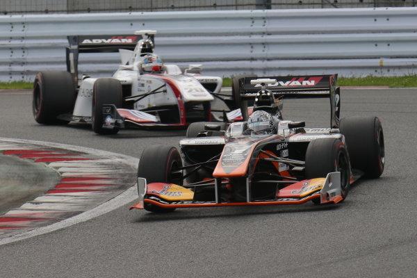 Yuji Kunimoto, JMS P.MU/CERUMO・INGING SF14 Toyota, third position.