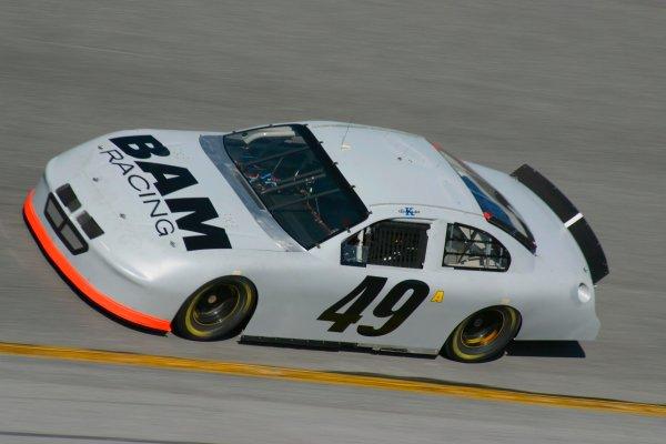 2003 NASCAR TestingDaytona, USA. 7th January 2003 Ken Schrader (Dodge BAM Racing), action.World Copyright: Greg Aleck/ LAT Photographic ref: Digital Image Only