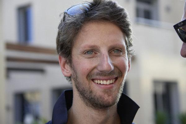 Romain Grosjean, Lotus.