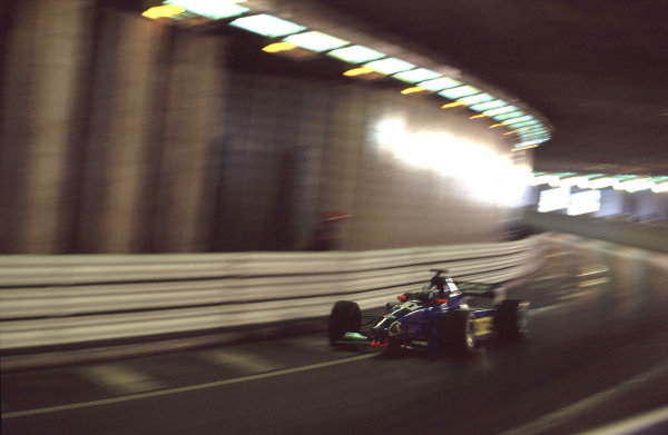 2001 F3000 ChampionshipMonte Carlo, Monaco. 26th May 2001Stephane Sarrazin (Prost Junior) - action.World Copyright: Charles Coates / LAT Photographicref: 35mm Image A09