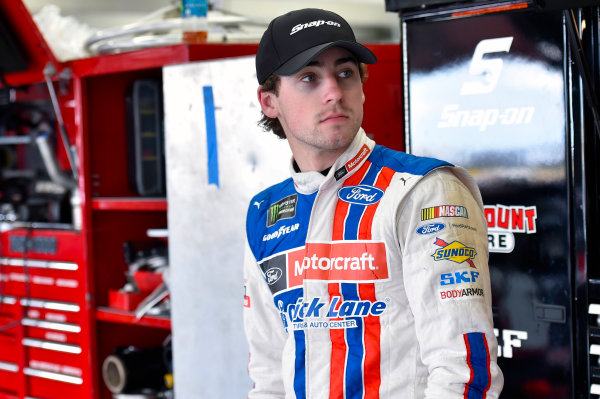 Monster Energy NASCAR Cup Series Coca-Cola 600 Charlotte Motor Speedway, Concord, NC USA Thursday 25 May 2017 Ryan Blaney, Wood Brothers Racing, Motorcraft/Quick Lane Tire & Auto Center Ford Fusion World Copyright: Nigel Kinrade LAT Images ref: Digital Image 17CLT2nk01914