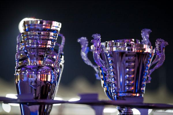 2017 GP2/3 Awards Evening. Yas Marina Circuit, Abu Dhabi, United Arab Emirates. Sunday 26 November 2017. Trophies Photo: Sam Bloxham/FIA Formula 2/GP3 Series. ref: Digital Image _J6I2760