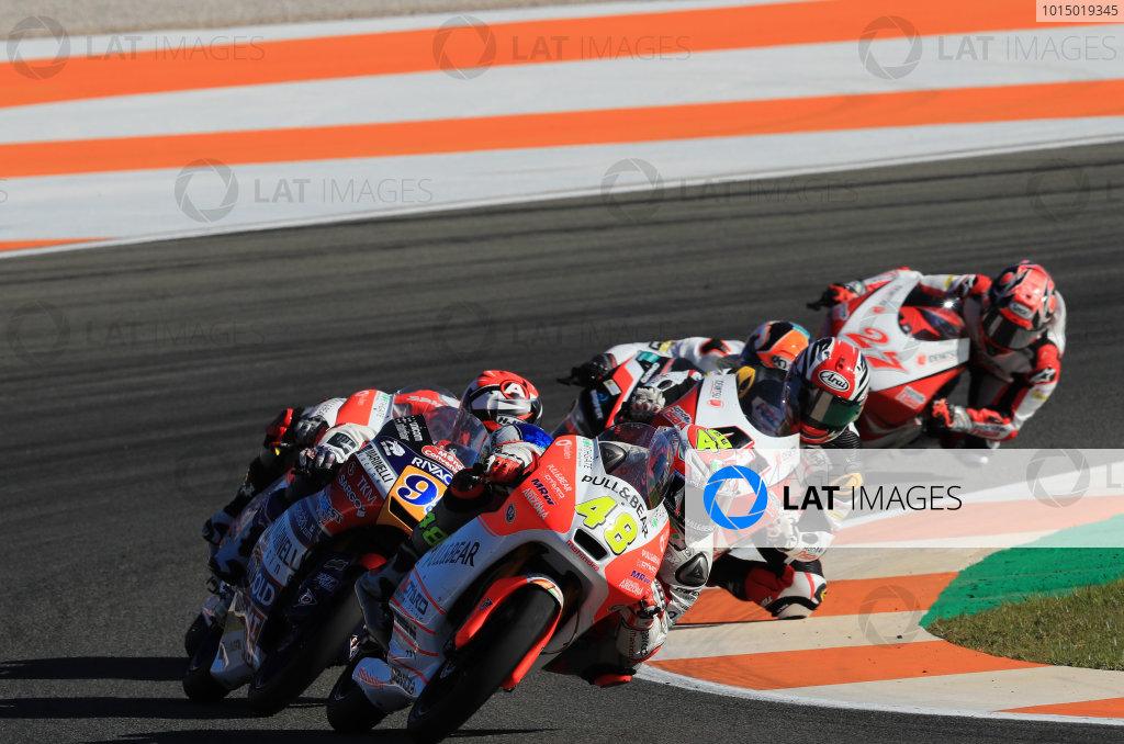 2017 Moto3 Championship - Round 18 Valencia, Spain  Sunday 12 November 2017 Lorenzo Dalla Porta, Aspar Team  World Copyright: Gold and Goose Photography/LAT Images  ref: Digital Image 706729