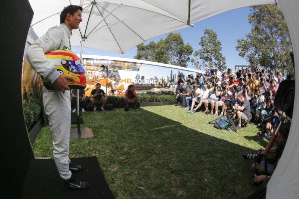 Rio Haryanto (IDN) Manor Racing at Formula One World Championship, Rd1, Australian Grand Prix, Preparations, Albert Park, Melbourne, Australia, Thursday 17 March 2016.