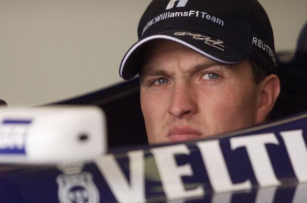 2001 Spanish Grand PrixCatalunya, Barcelona, Spain. 27-29 April 2001.Ralf Schumacher (Williams BMW).World Copyright - Steve Etherington/LAT Photographicref: 18 mb Digital Image