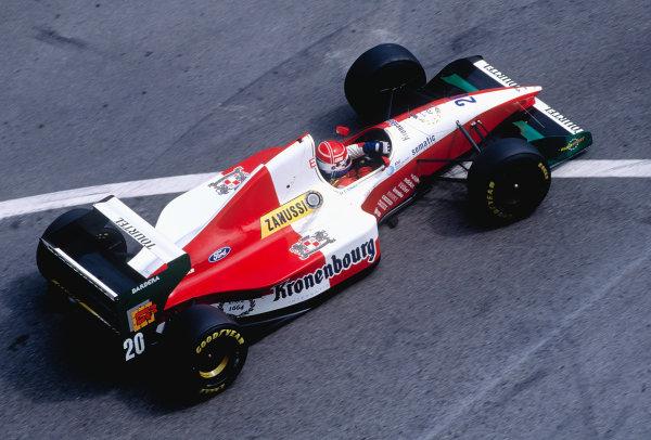 1994 Monaco Grand Prix.Monte Carlo, Monaco. 12-15 May 1994.Erik Comas (Larousse LH94 Ford) 10th position.Ref-94 MON 79.World Copyright - LAT Photographic