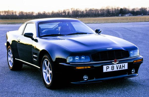 Aston Martin, V8 coupe, 1996