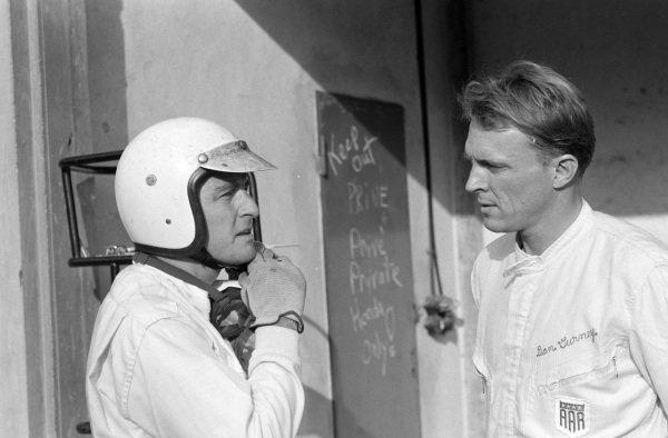 Ludovico Scarfiotti and Dan Gurney.