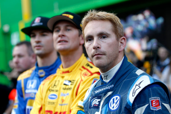 2017 Race of Champions Miami, Florida, USA Friday 20 January 2017 Scott Speed, Ryan Hunter-Reay, Alexander Rossi World Copyright: Alexander Trienitz/LAT Photographic ref: Digital Image 2017-24h-RoC-MIA-AT2-0114