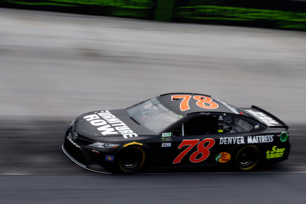 Monster Energy NASCAR Cup Series Food City 500 Bristol Motor Speedway, Bristol, TN USA Friday 21 April 2017 Martin Truex Jr, Furniture Row/Denver Mattress Toyota Camry World Copyright: Lesley Ann Miller LAT Images