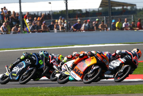 2017 Moto3 Championship - Round 12 Silverstone, Northamptonshire, UK. Sunday 27 August 2017 Niccolo Antonelli, Red Bull KTM Ajo World Copyright: Gold and Goose / LAT Images ref: Digital Image 690000