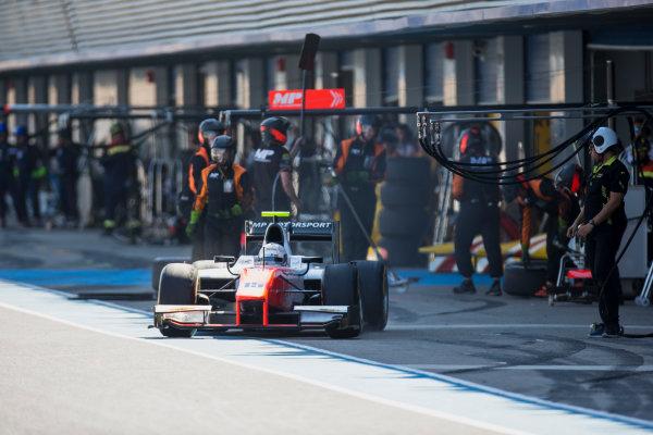 2017 FIA Formula 2 Round 10. Circuito de Jerez, Jerez, Spain. Saturday 7 October 2017. Jordan King (GBR, MP Motorsport).  Photo: Zak Mauger/FIA Formula 2. ref: Digital Image _X0W2017