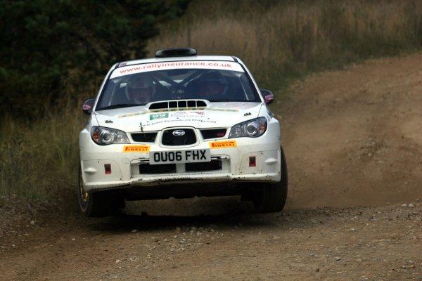 2007 British Rally Championship,Rally Yorkshire, 6th October 2007,Ryan Champion/Craig Thorley Subaru Impreza,World Copyright: Ebrey/LAT Photographic.
