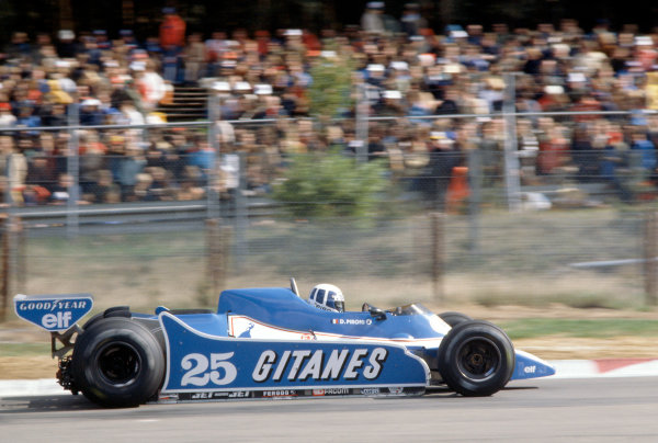 Zolder, Belgium. 2-4 May 1980. Didier Pironi, Ligier JS11/15-Ford Cosworth, 1st position. World Copyright: LAT Photographic. Ref: 80BEL05