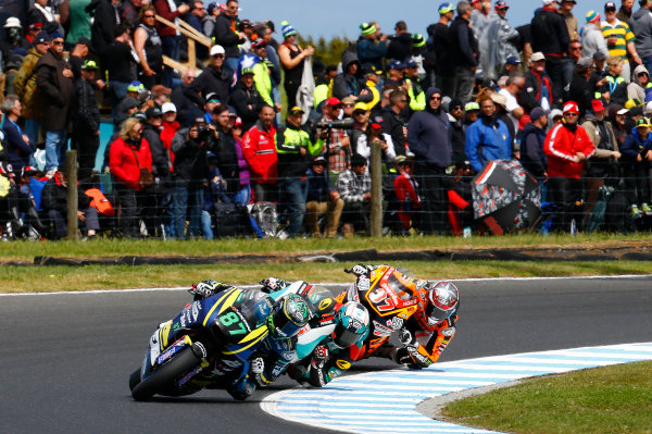 2017 Moto2 Championship - Round 16 Phillip Island, Australia. Sunday 22 October 2017 Remy Remy Gardner, Tech 3 Racing World Copyright: Gold and Goose / LAT Images ref: Digital Image 24768