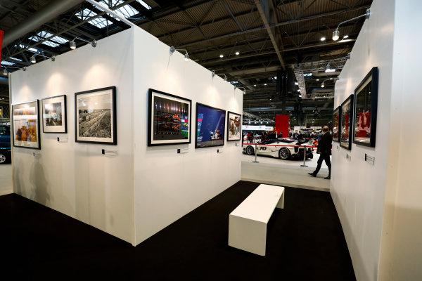 Autosport International Exhibition. National Exhibition Centre, Birmingham, UK. Thursday 11th January 2017. The LAT Stand.World Copyright: Ashleigh Hartwell/LAT Images Ref: _O3I7541