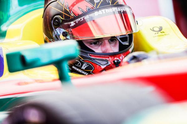 2016/2017 FIA Formula E Championship. Round 8 - Berlin ePrix, Tempelhof Airport, Berlin, Germany. Sunday 11 June 2017. Daniel Abt (GER), ABT Schaeffler Audi Sport, Spark-Abt Sportsline, ABT Schaeffler FE02. Photo: Zak Mauger/LAT/Formula E ref: Digital Image _54I7908