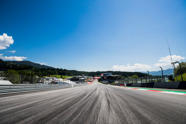 2017 GP3 Series Round 2.  Red Bull Ring, Spielberg, Austria. Thursday 6 July 2017. A view of the track. Photo: Zak Mauger/GP3 Series Media Service. ref: Digital Image _56I0007