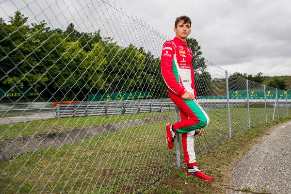 2017 FIA Formula 2 Round 7. Hungaroring, Budapest, Hungary. Thursday 27 July 2017. Charles Leclerc (MCO, PREMA Racing).  Photo: Zak Mauger/FIA Formula 2. ref: Digital Image _56I0188